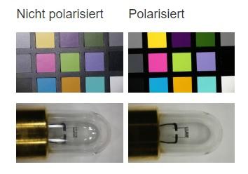 Anwendungsbereiche Polarisationsfilter